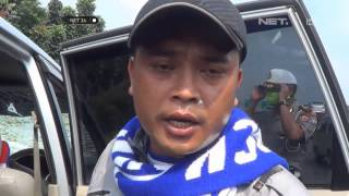 NET24 - Suporter Persija Menutup Tol Cikampek