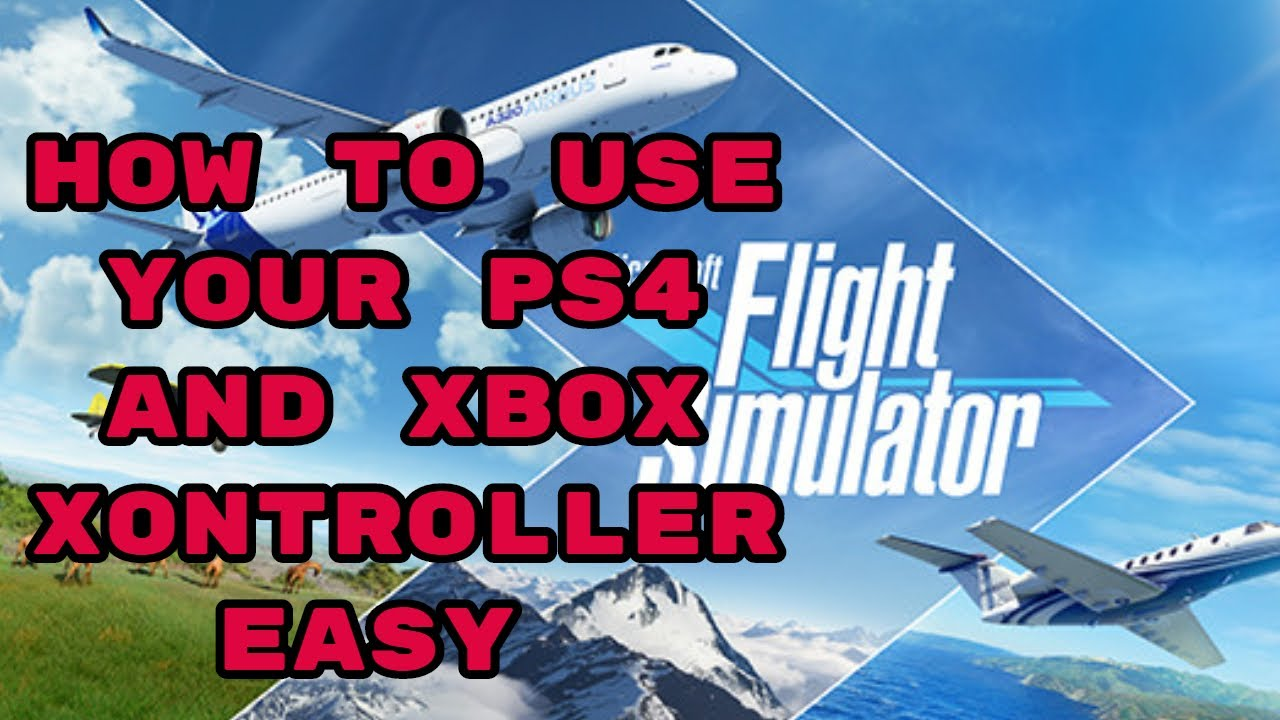 HOW TO USE YOUR PS4 AND XBOX CONTROLLER ON MICROSOFT ...