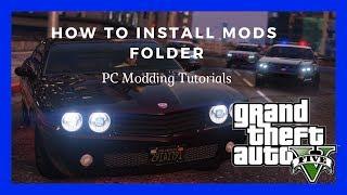 PC Modding Tutorials: How To Create A Mods Folder In Your Grand Theft Auto V Game Folder #78