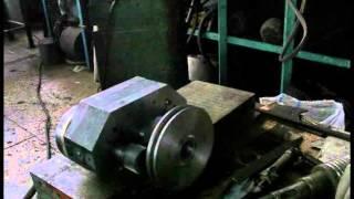 паровой роторный двигатель- пробная прокрутуа