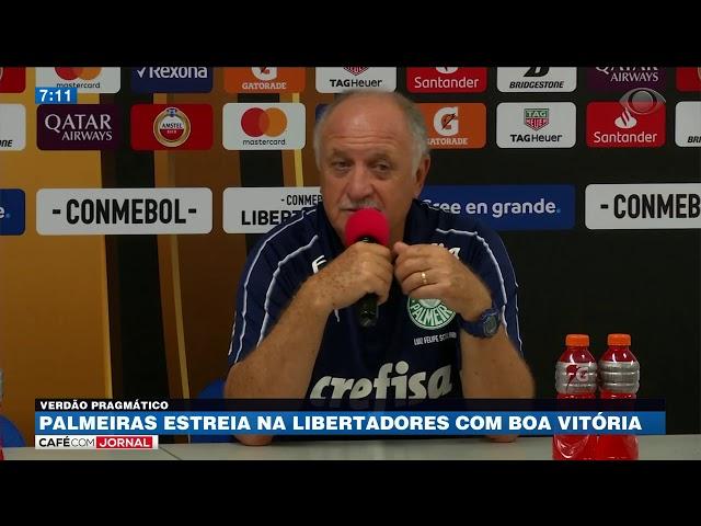 Palmeiras estreia na Libertadores com boa vitória