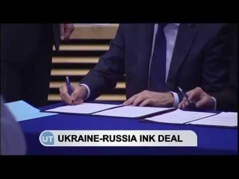 Ukraine and Russia Strike Gas Deal: EU helps broker agreement to avert winter chill