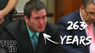 Top 10 Longest Prison Sentences Given To Police Officers