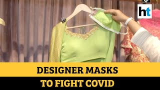 Covid-19: Punjab designer's masks can be paired with dresses