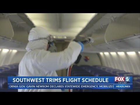 Southwest Airlines Trims Flight Schedule