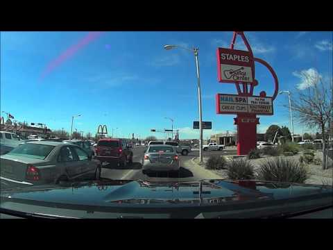 Driving around Albuquerque, NM 9