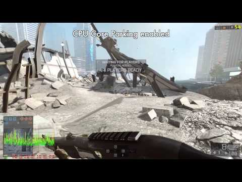 Windows 7 Ultimate 64bit BF4 CPU Core Parking Test