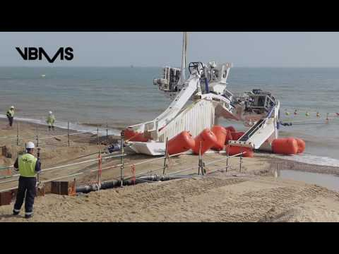 Galloper offshore wind farm | export cable shore landing * full version