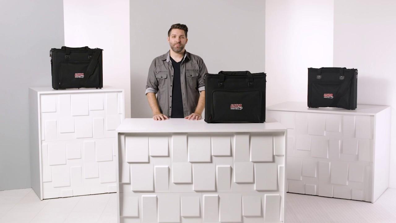 4u audio rack bag grb 4u gator cases