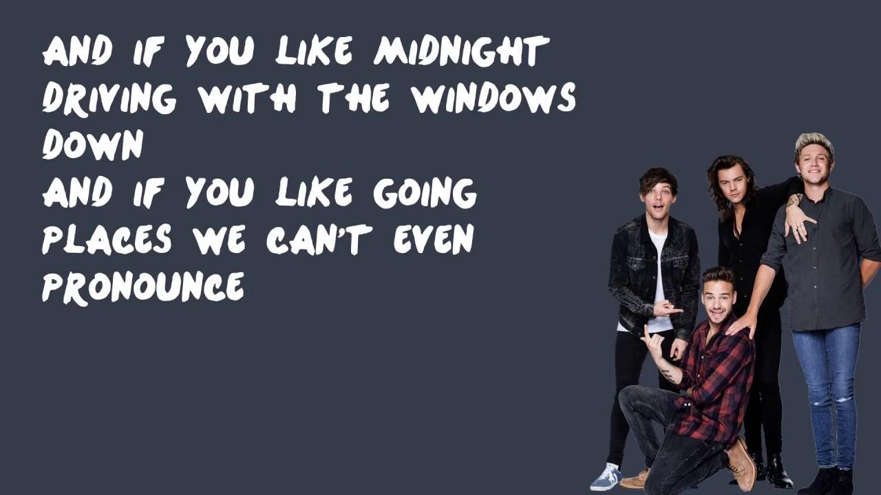 Hey Angel   One Direction Lyrics   YouTube