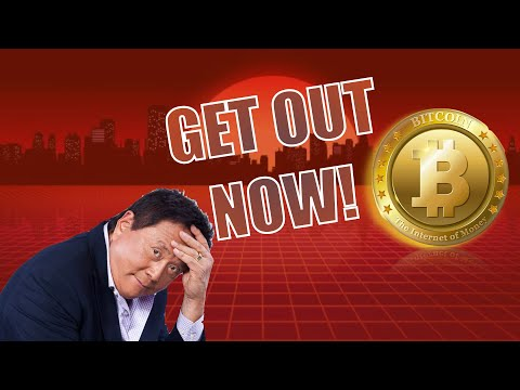 GET OUT OF THE MARKET! YOU'RE BEING PLAYED!! Rich Dad Poor Dad Author Robert Kiyosaki and Bitcoin