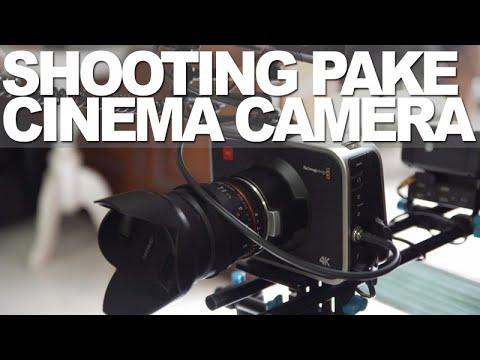 Black Magic Production Camera 4K