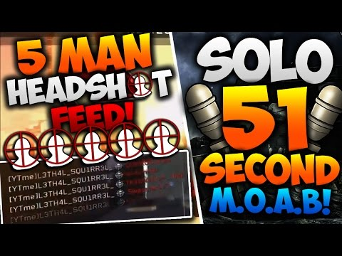 Call of Duty: Top 5 PLAYS of the Week - 51 SECOND MOAB & A 5 MAN HEADSHOT ON-SCREEN! (Top 5 Clips)