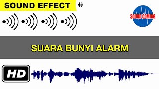 Alarm voice, sound effects