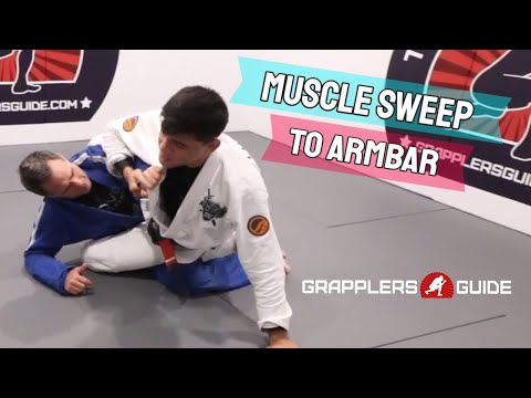 Michael Liera Jr. - Muscle Sweep To Armbar When They Post On Your Body
