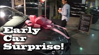 😀😀Early Car Surprise! 2017 Civic Hatchback EX For Lesslie. Dealership Vlog Honda Of Santa Maria