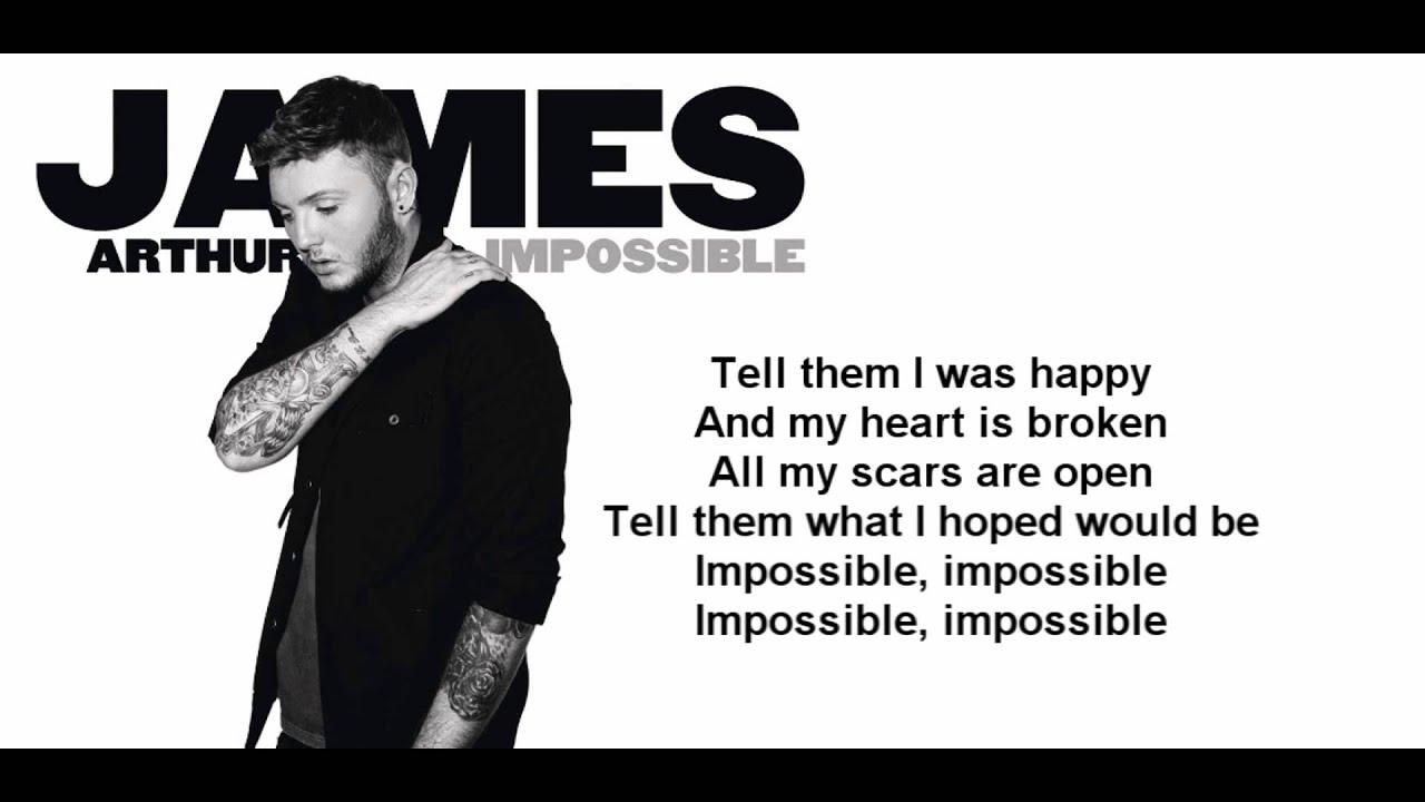 James Arthur sings Shontelle's Impossible - The Final ...