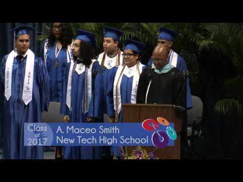 New Tech High School at A Maceo Smith - 2017 Gradutaion