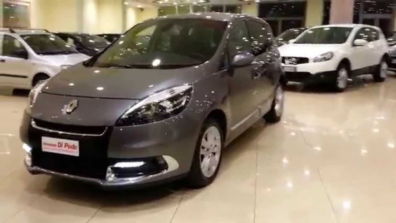 renault scenic x mode 1 5 dci 2012 semestrale aziendale autosalone di pede matera youtube. Black Bedroom Furniture Sets. Home Design Ideas