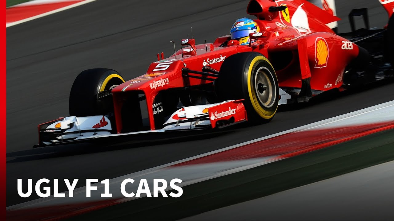 10 times F1 rule changes created ugly cars - YouTube