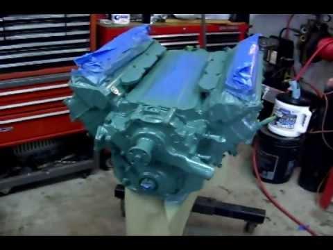1955 Buick Engine Painting - YouTube