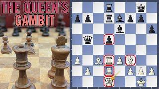 How to play tнe Queen's Gambit: THE PYTHON CRUSH | Anatoly Karpov vs Boris Spassky, Montreal 1979.