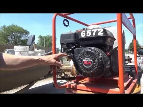 How to repair gas shut off on honda GX 160 small engine