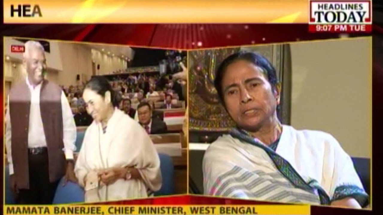 News Today At Nine Interview With West Bengal Cm Mamata Banerjee Youtube