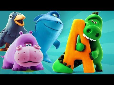 Азбука с животными - Развивающая игра для ребёнка из Говорящей Азбуки / Учим Буквы
