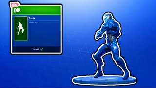 FORTNITE NEW DIP EMOTE! FORTNITE NEW ITEM SHOP UPDATE! FREE V-BUCKS GIVEAWAY FORTNITE BATTLE ROYALE