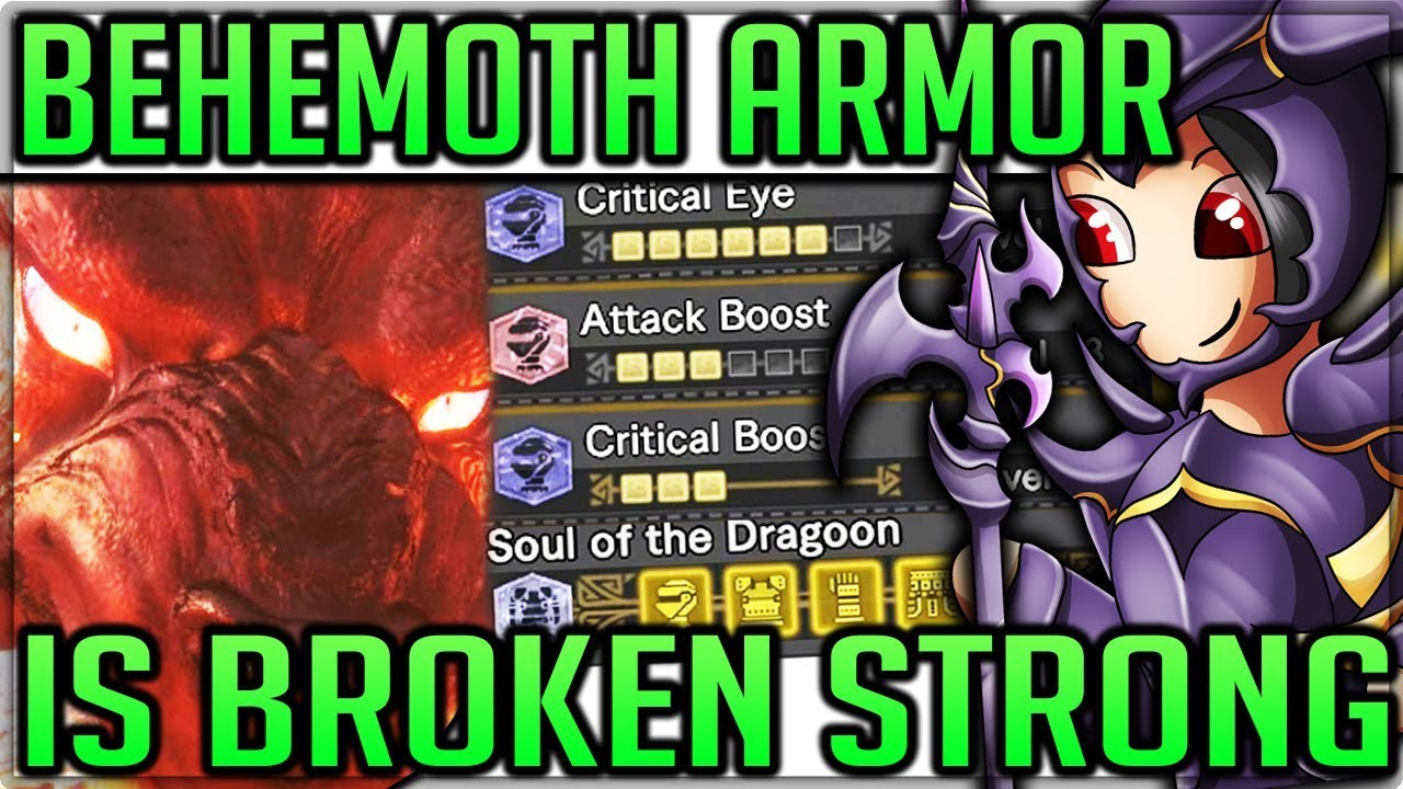 Behemoth Armor is Overpowered - Full Armor/Event Overview - Monster