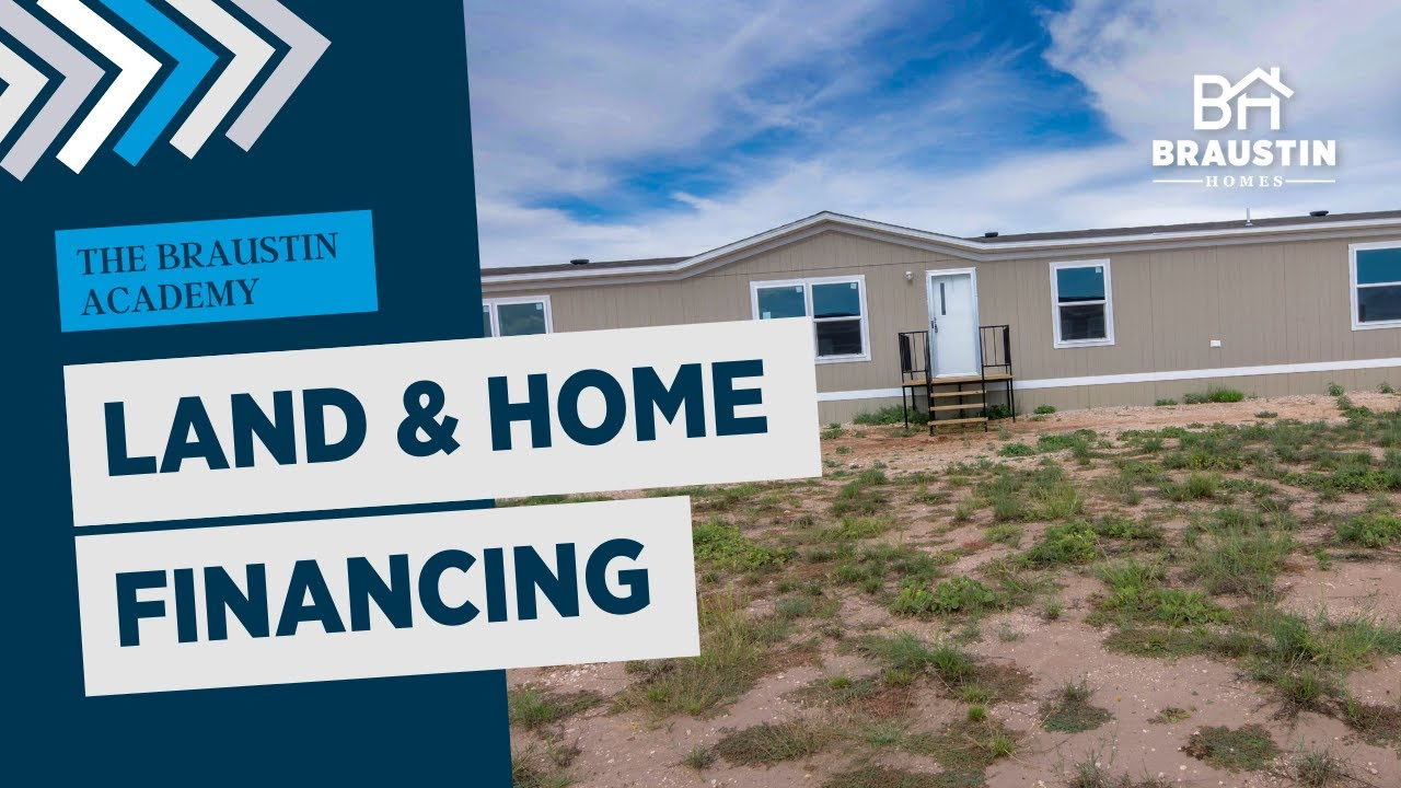 Conventional Land & Home Financing for Mobile Homes