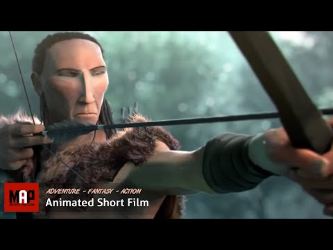 Suspense CGI 3D Animated Short Film ** ANIMA ** Amerindian Adventure Animation by ESMA