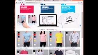 كيفية إنشاء الطابع الخاص بك الكرتون تي شيرت على الانترنت