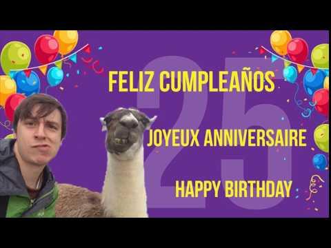 Happy Birthday Feliz Cumpleaños Bon Anniversaire ~ Feliz cumpleaÑos joyeux anniversaire happy birthday juan youtube