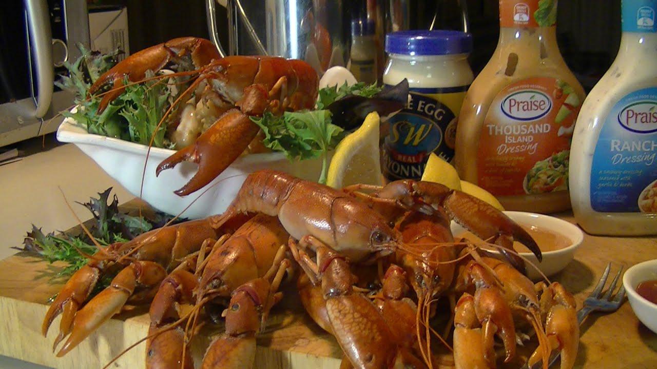 how to cook crayfish australia