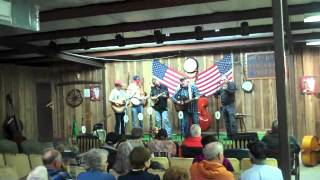 When God dips his pen of love in my heart .  The Dixie Ramblers.Featuring Robby Houston