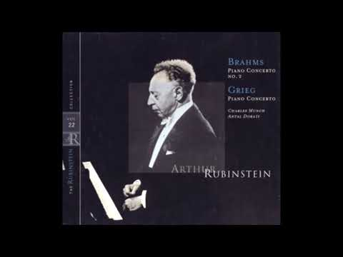 BRAHMS: Piano Concerto No. 2 In B Flat Major Op. 83 / Rubinstein · Munch · Boston Symphony Orchestra