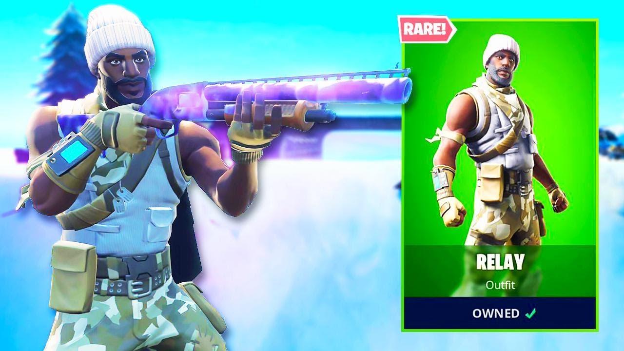 The New RARE RECON SKIN in Fortnite   - Gaming Gods