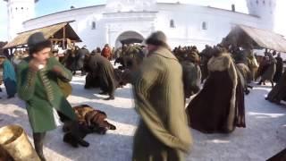 """Съемка массовой драки фильма """"Тобол"""""""