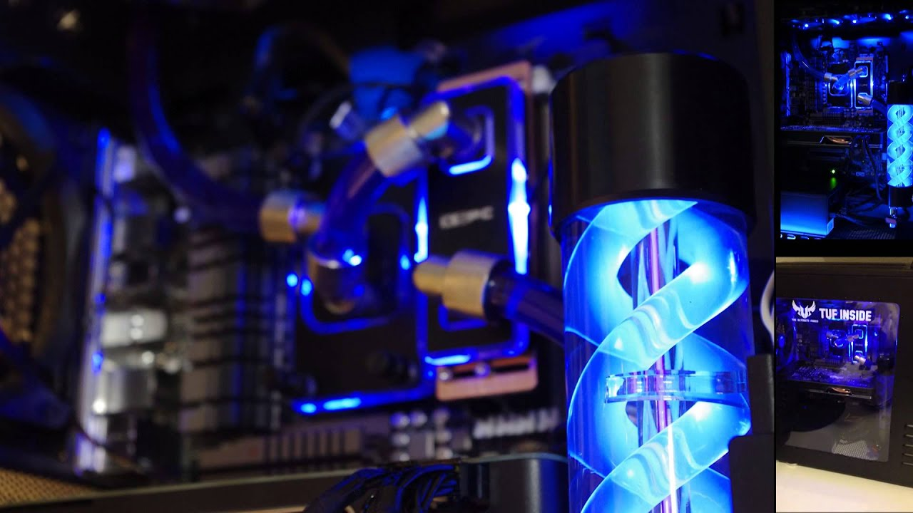 Image result for cpu liquid cooling youtube