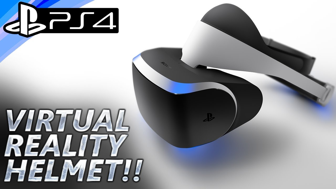 ps4 virtual reality helmet project morpheus games. Black Bedroom Furniture Sets. Home Design Ideas