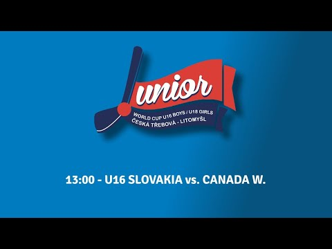 ISBHF 2019 WORLD JUNIOR CUP SVK - CAN U16 BOYS