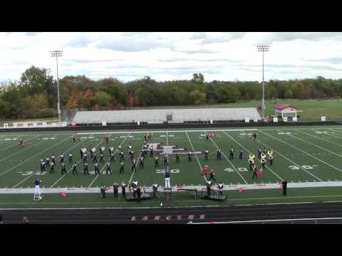 Gobles High School Marching Band 2015 Lakeshore Invitational