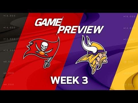 Tampa Bay Buccaneers vs. Minnesota Vikings | Week 3 Game Preview | NFL Playbook