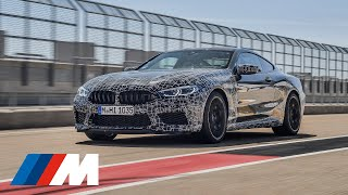 Test drive: BMW M8 new Operating Concept.