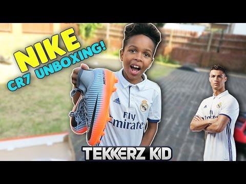 GARDEN TEKKERS!! | NIKE CR7 UNBOXING!!