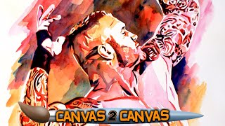 Randy Orton's tattoos create a challenge for artist Rob Schamberger - WWE Canvas 2 Canvas