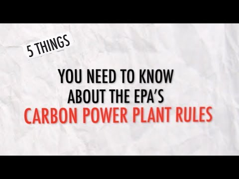 5 Things You Need to Know about the EPA's Clean Power Plan