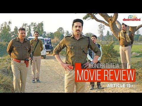 Article 15 Movie Review  Ayushmann Khurrana  Anubhav Sinha  TutejaTalks
